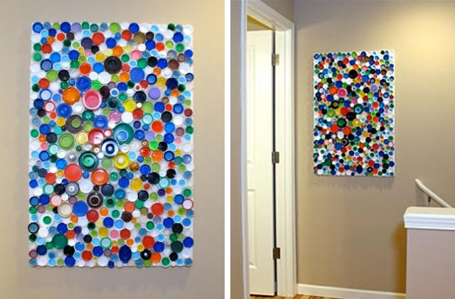 Панно на стену своими руками из подручных материалов фото