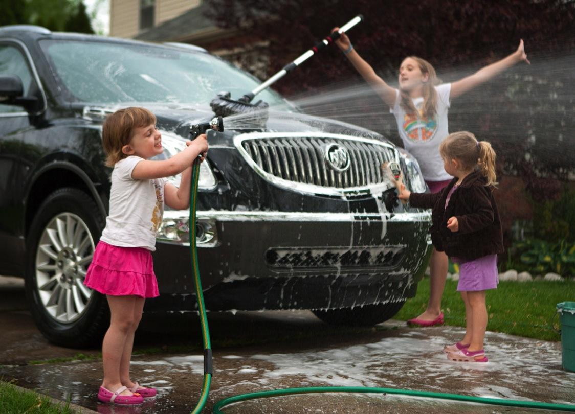 Помывка машины